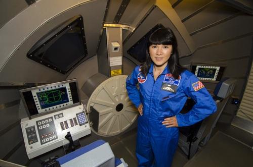 Cô giáo Nguyễn Thị Phương Giang tại chương trình HESA.