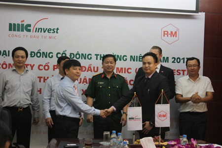 MIC ký kết hợp tác với Tập đoàn hóa chất BASF