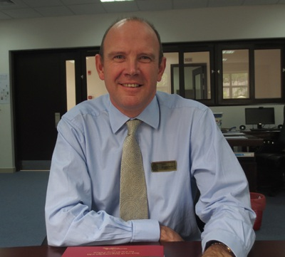 Ông Mark Sayer, Hiệu trưởng trường Quốc tế BVIS Royal City.