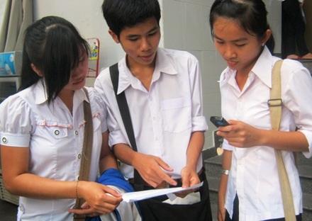 Bộ GD-ĐT công bố điểm mới phương án tuyển sinh năm 2014