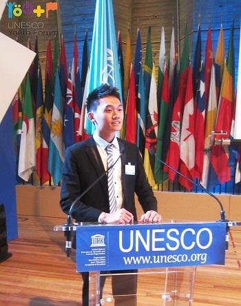 Đại diện Việt Nam phát biểu tại diễn đàn dưới vai trò đồng chủ tọa.