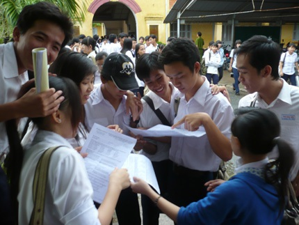 Thí sinh cần tìm hiểu kỹ ngành học trước khi đăng ký dự thi