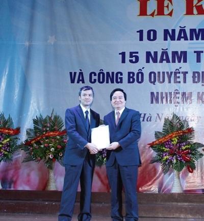 Giám đốc ĐH Quốc gia Hà Nội Phùng Xuân Nhạ (