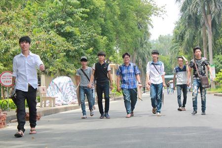 Thí sinh dự thi vào ĐH Lâm nghiệp Việt Nam.