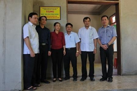 Nhà mới của cô giáo Nguyễn Thị Hảo
