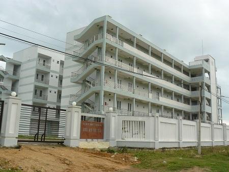 Ký túc xá Trường Cao đẳng Y tế Khánh Hòa không có sinh viên nào ở