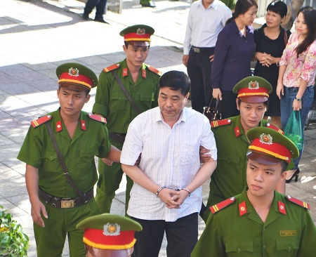 Trần Hải Sơn bị đề nghị từ 18 đến 20 năm tù - mức cao nhất trong các bị cáo.