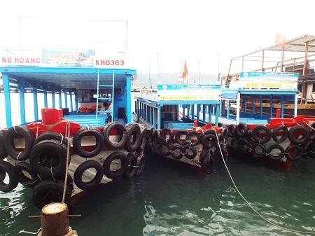 Các tàu du lịch ở Nha Trang sẽ hoạt động trở lại sau khi bão qua.