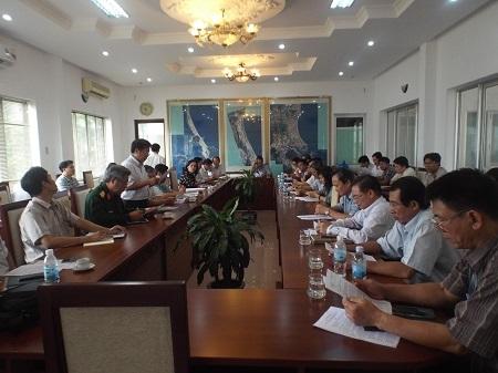Trưa nay 29/11, tỉnh Khánh Hòa đã họp khẩn bàn phương án đối phó với bão số 4