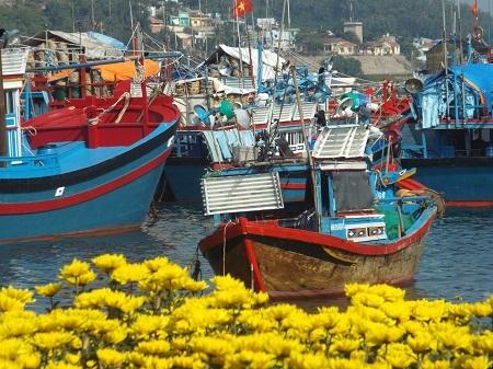 Đảo Trí Nguyên có gần 700 hộ dân với khoảng 3.000 người.