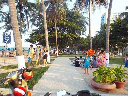 Thời tiết Nha Trang có nắng nhẹ vào những ngày lễ.