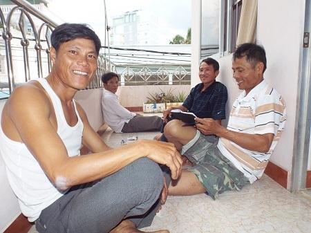 Căn nhà 4 tầng của ông Di đã đón 150 thí sinh và phụ huynh vào ở miễn phí.