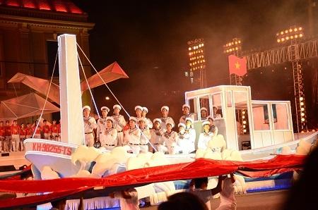 Ấn tượng với Lễ hội đường phố tại Festival Biển Nha Trang – Khánh Hòa 2015.