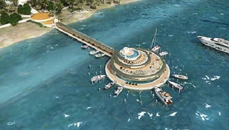 Phối cảnhTrung tâm đại dương trên biển Nha Trang (nguồn ảnh:phoenixbeachvietnam.com)
