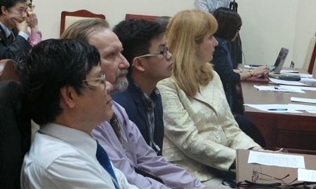Vòng thi chung cuộc còn thu hút hai vị khách đặc biệt đến từ Viện Hàn lâm Khoa học Ukraine