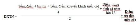 Theo quy chế thi THPT quốc gia, đ