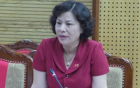 Bà Vũ Thị Bích Việt – Phó Chủ tịch UBND tỉnh Tuyên Quang khẳng định
