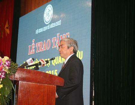 Bộ trưởng Bộ KH&CN Nguyễn Quân