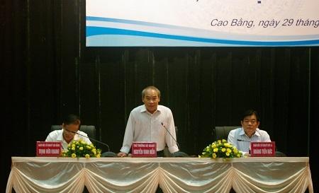 Thứ trưởng Nguyễn Vinh Hiển giải đáp các băn khoăn và đề nghị các