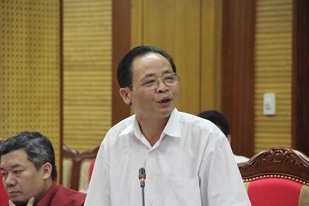 Giám đốc Sở GD-ĐT Hà Giang Vũ Văn Sử.