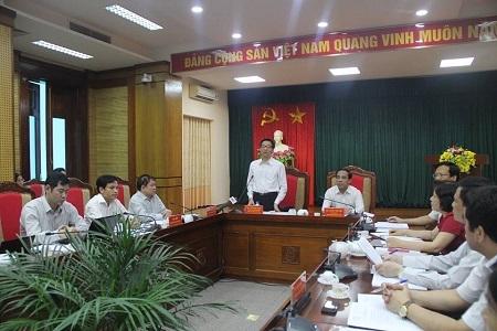 Phó Thủ tướng Vũ Đức Đam làm việc với tỉnh Tuyên Quang về