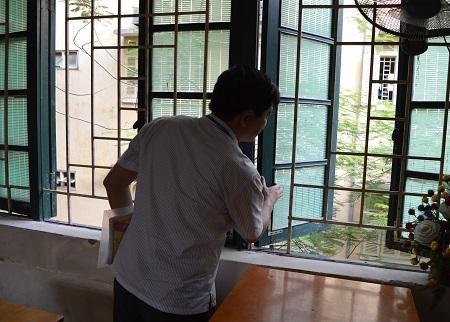 Phó giám đốc Sở GD-ĐT Hà Nội Phạm Xuân Tiến đặc biệt lưu ý các điểm thi về