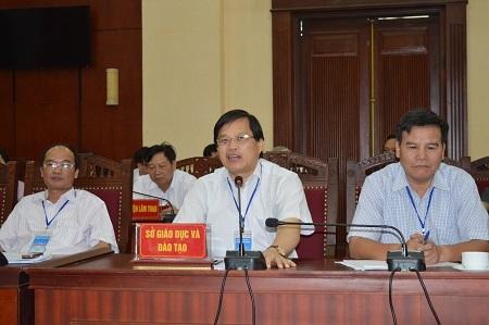 Giám đốc Sở GD-DT Phú Thọ trao đổi với báo chí về công tác