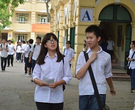 Nhiều thí sinh tự tin đạt điểm cao ở môn thi Toán.