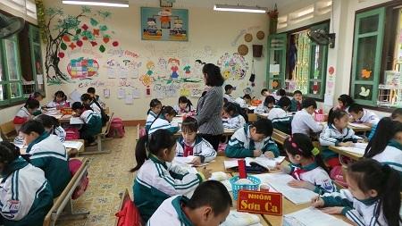 Tổ chức hoạt động lớp học của mô hình trường tiểu học mới