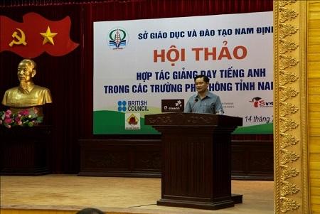 Ông Bạch Ngọc Chiến - Phó Chủ tịch UBND tỉnh Nam Định.