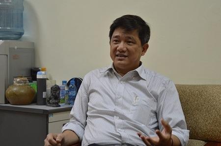 Ông Phạm Xuân Tiến - Phó giám đốc Sở GD-ĐT Hà Nội.