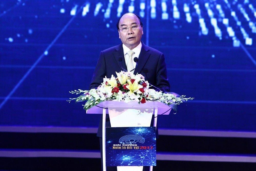 Thủ tướng Nguyễn Xuân Phúc chia sẻ những cảm xúc về Giải thưởng Nhân tài Đất Việt.