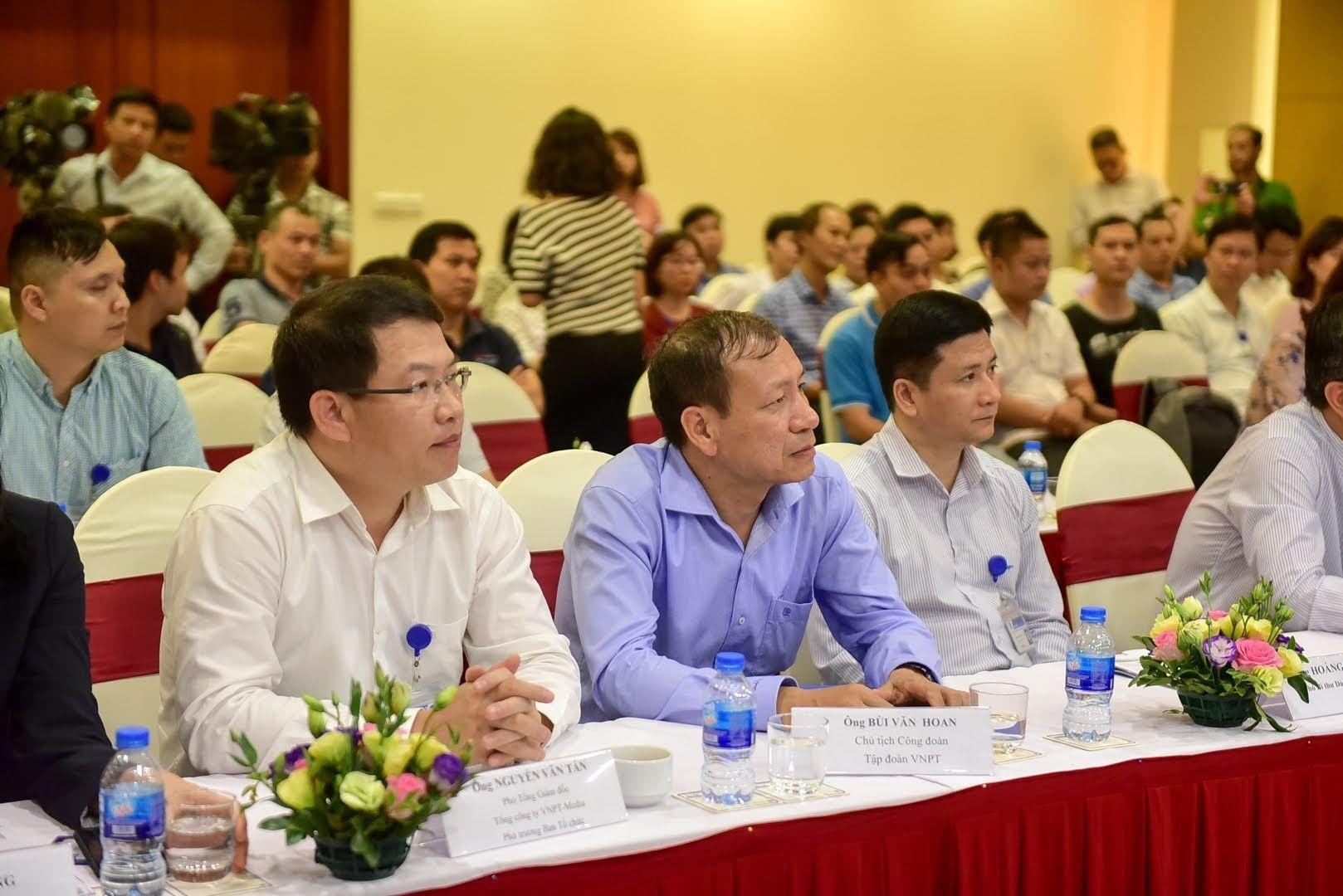 Chùm ảnh Họp báo công bố kết quả Sơ khảo lĩnh vực CNTT Giải thưởng Nhân tài Đất Việt 2018 - 8