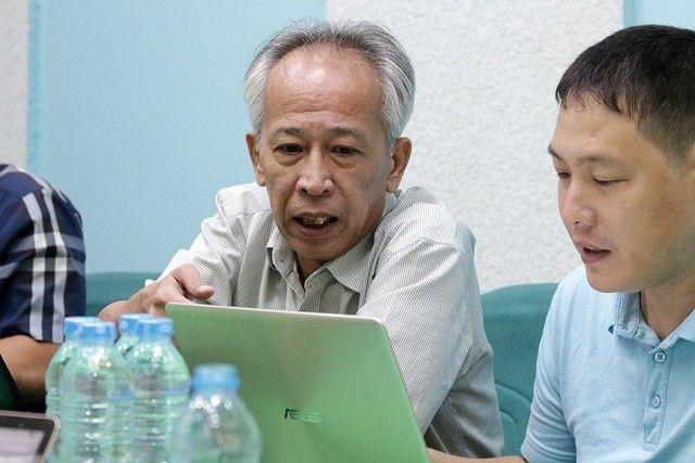 Ông Nguyễn Long - Tổng Thư ký Hội tin học Việt Nam - Chủ tịch Hội đồng Giám khảo lĩnh vực CNTT của Giải thưởng Nhân tài Đất Việt