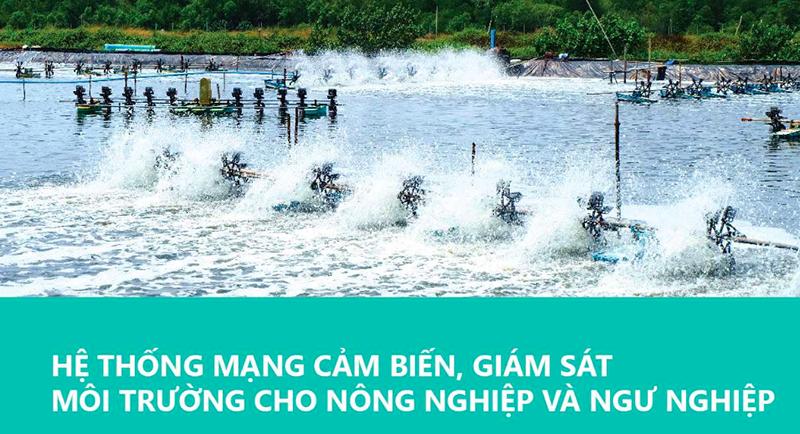 """Minh họa sản phẩm """"Hệ thống mạng giám sát môi trường nông nghiệp và ngư nghiệp"""" - Giải Ba lĩnh vực CNTT của giải thưởng Nhân tài Đất Việt 2016."""