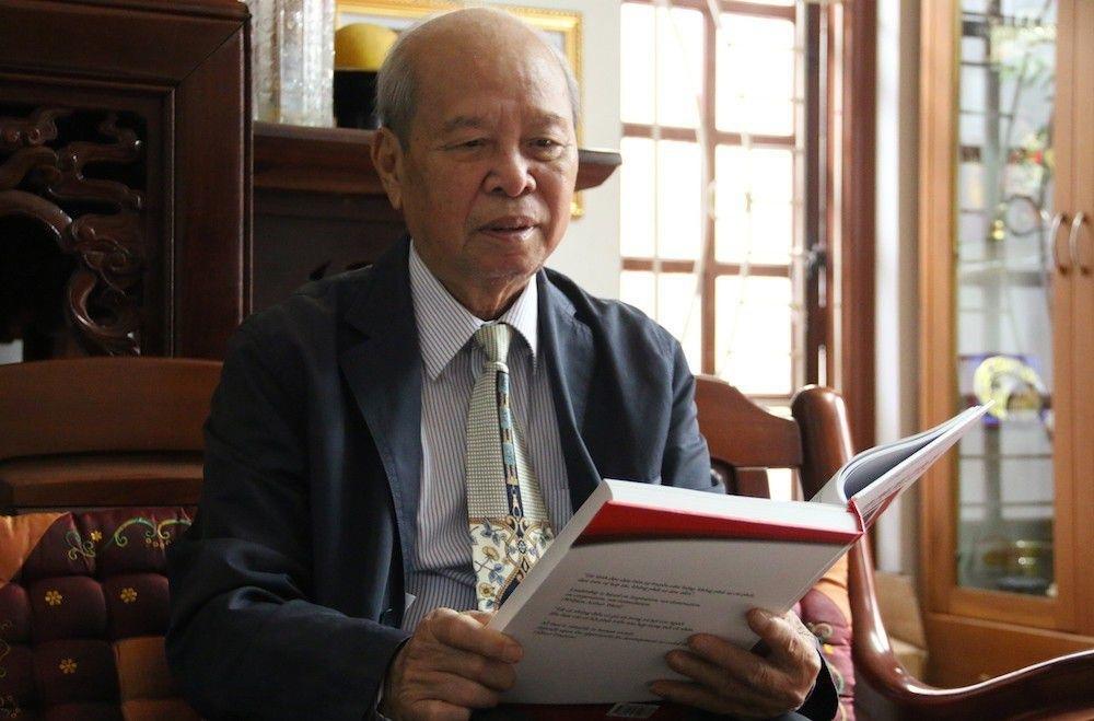 GS.TSKH Phạm Ngọc Đăng ở tuổi 81.