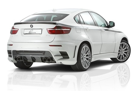 Dữ dằn BMW X6 bản độ của Lumma Design - 10