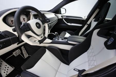 Dữ dằn BMW X6 bản độ của Lumma Design - 4
