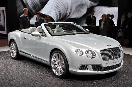 Bentley Continental GTC thổi luồng gió mới - 7
