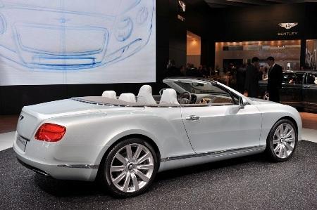 Bentley Continental GTC thổi luồng gió mới - 23