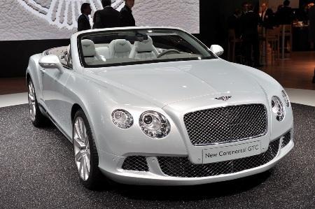 Bentley Continental GTC thổi luồng gió mới - 2
