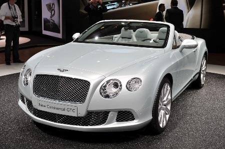 Bentley Continental GTC thổi luồng gió mới - 1