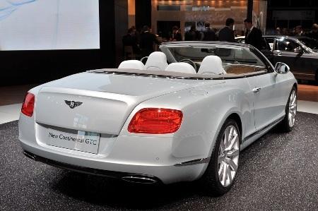Bentley Continental GTC thổi luồng gió mới - 25