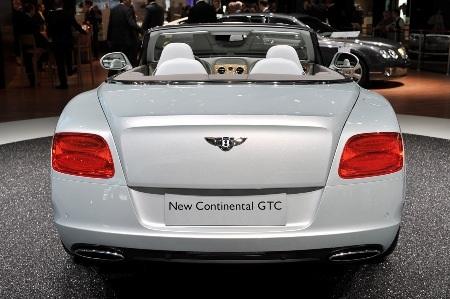 Bentley Continental GTC thổi luồng gió mới - 26