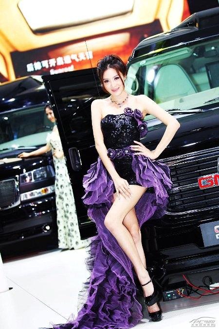 Người đẹp tại Triển lãm ô tô Quảng Châu (2) - 24