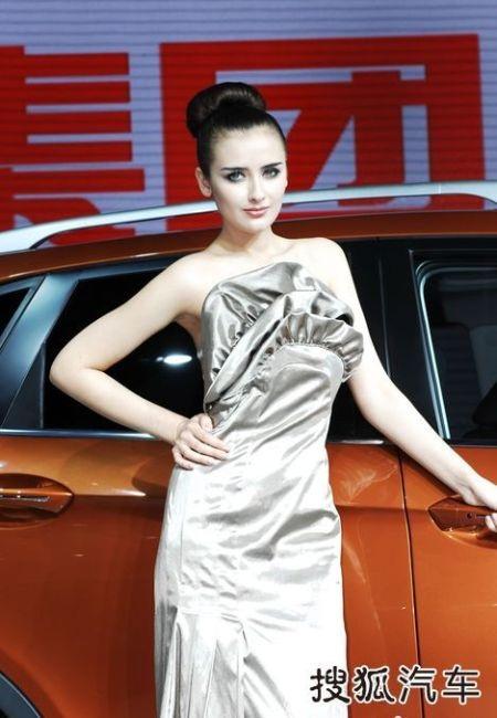 Người đẹp tại Triển lãm ô tô Quảng Châu (2) - 19