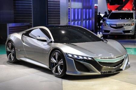 Acura NSX Concept tái sinh huyền thoại - 4