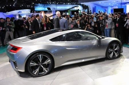 Acura NSX Concept tái sinh huyền thoại - 7