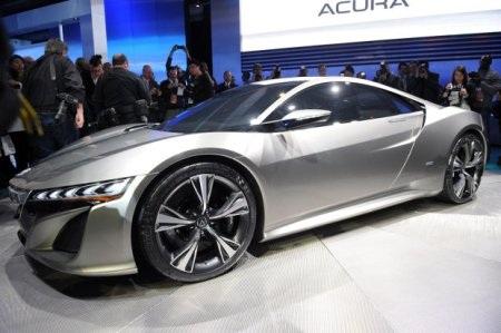 Acura NSX Concept tái sinh huyền thoại - 1