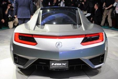 Acura NSX Concept tái sinh huyền thoại - 11